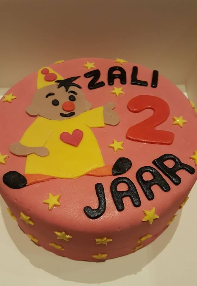 Verjaardagstaart Zali 2 jaar
